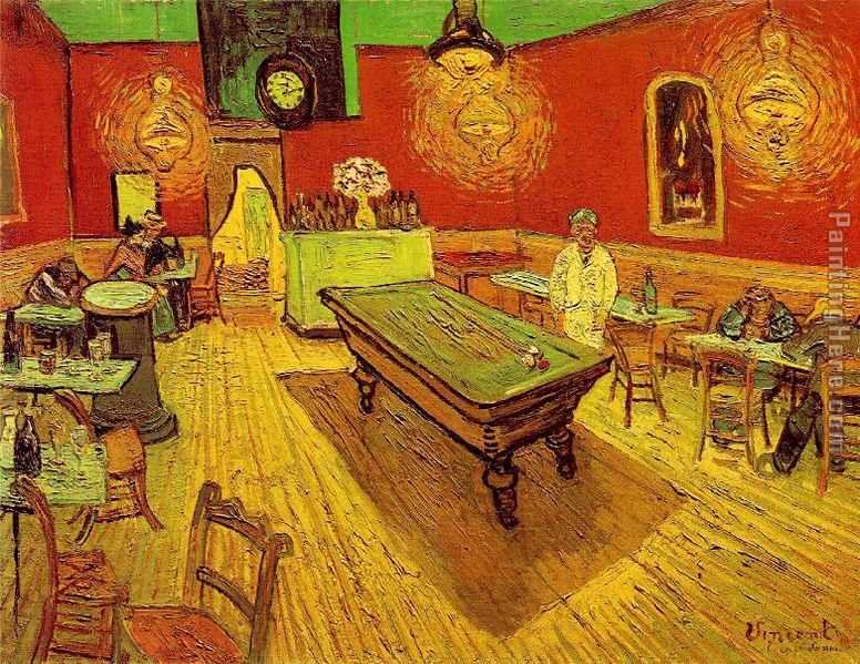 Vincent van Gogh The Night Cafe Art Painting