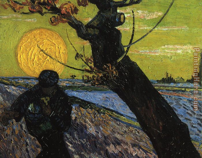 The Sower painting - Vincent van Gogh The Sower art painting