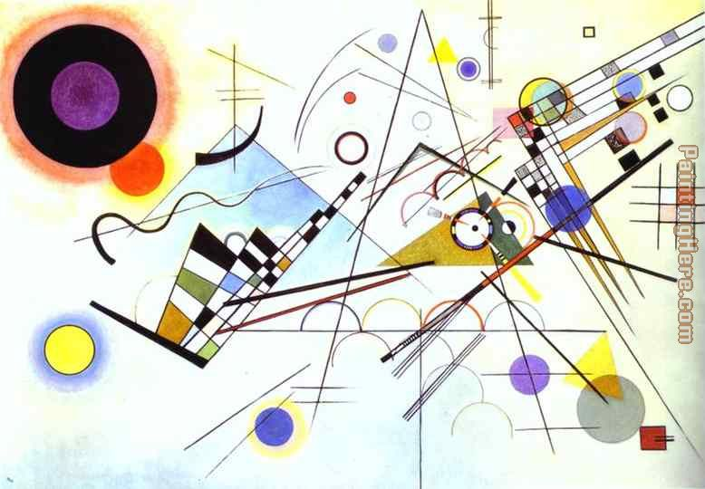 Composition VIII painting - Wassily Kandinsky Composition VIII art painting