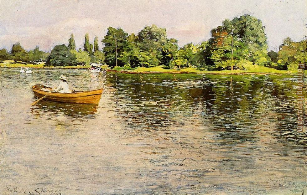 William Merritt Chase Chase Summertime Art Painting