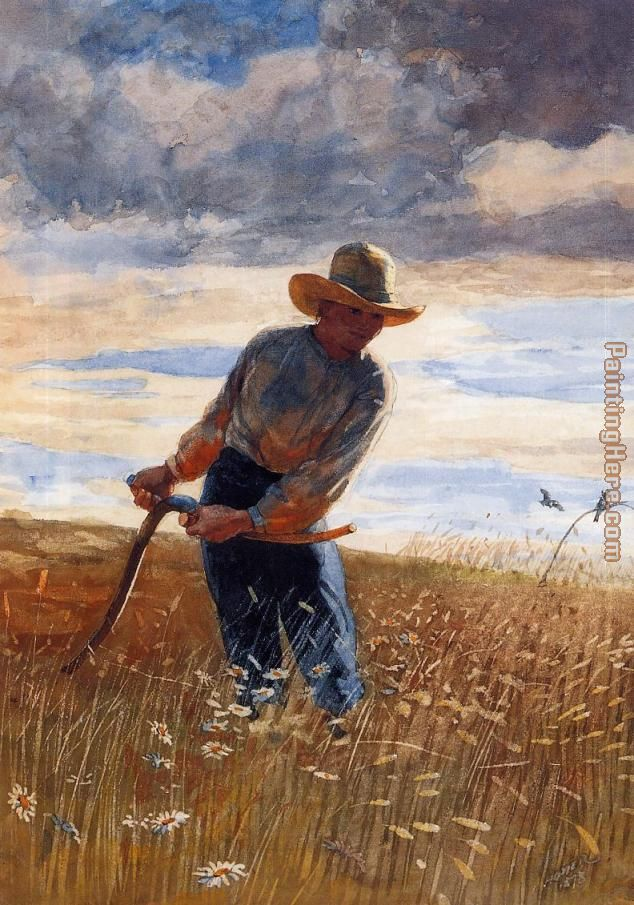 Homer The Reaper painting - Winslow Homer Homer The Reaper art painting