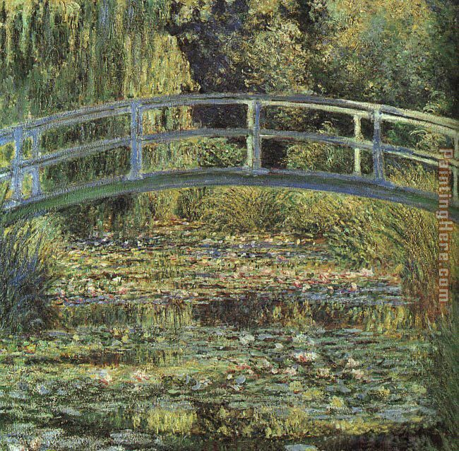 Monet The Waterlily Pond painting - Claude Monet Monet The Waterlily Pond art painting