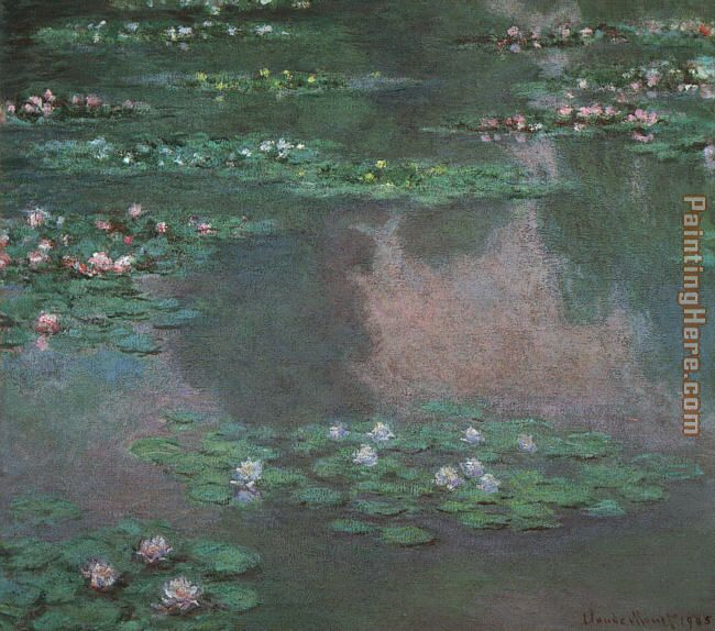 Monet Water Lillies I painting - Claude Monet Monet Water Lillies I art painting