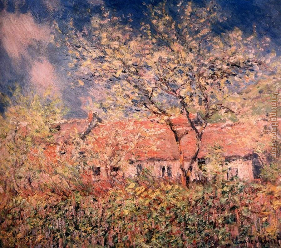 Springtime At Giverny painting - Claude Monet Springtime At Giverny art painting