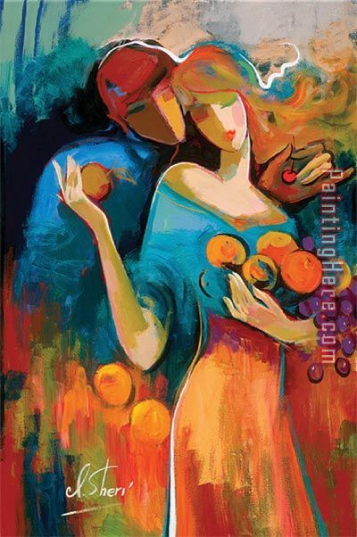 Irene Sheri Sweet Harvest Art Painting