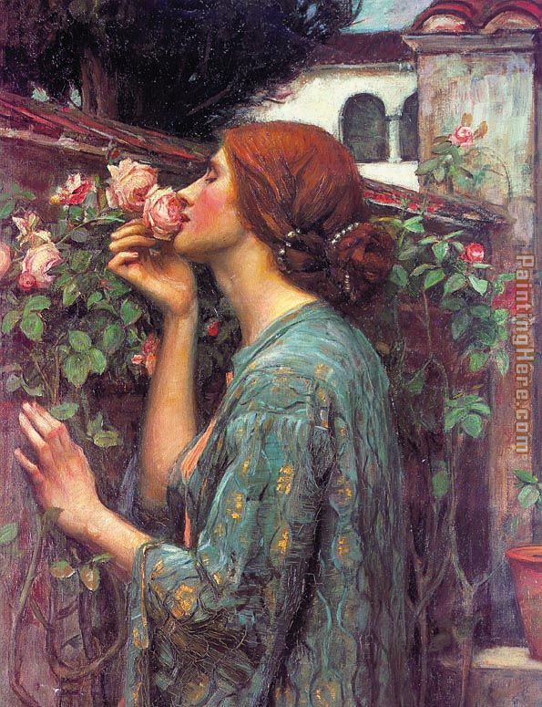 My Sweet Rose painting - John William Waterhouse My Sweet Rose art painting