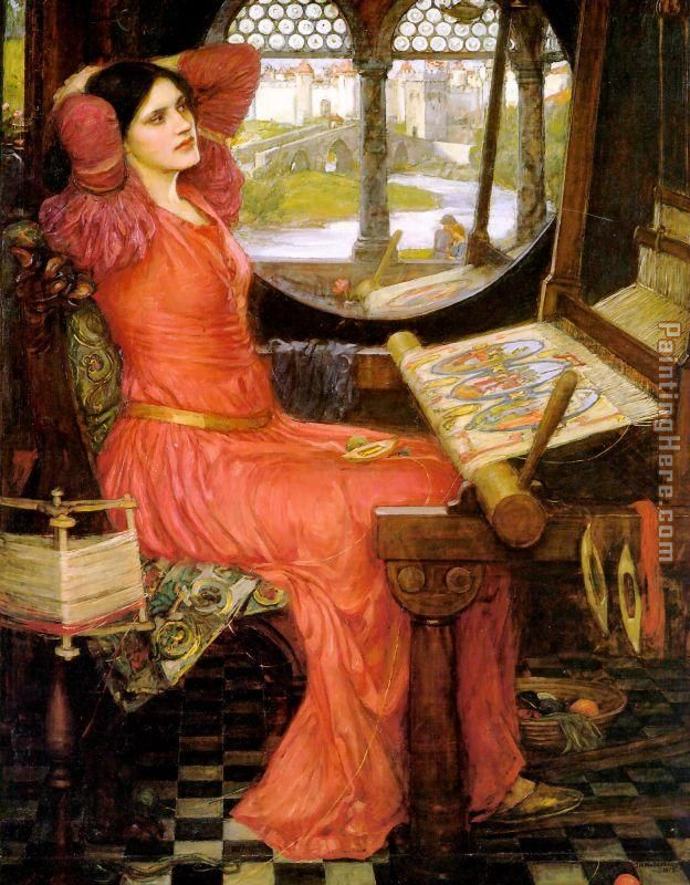 waterhouse artist lady of shalott